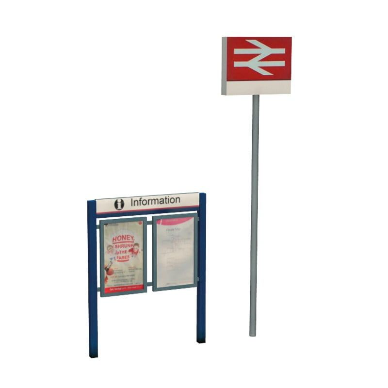 Branchline  Station Signage Set 44-548