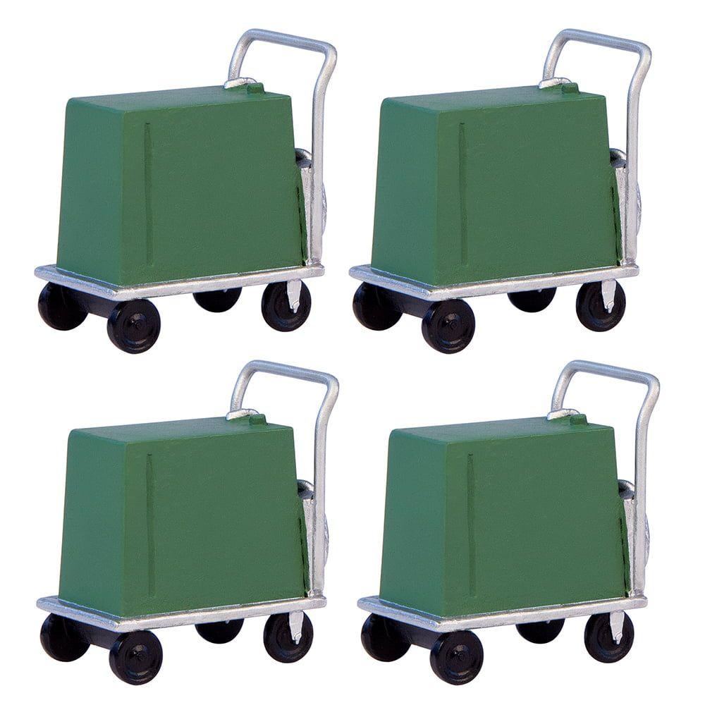 Branchline  Coolant Trolleys (x4) 44-567