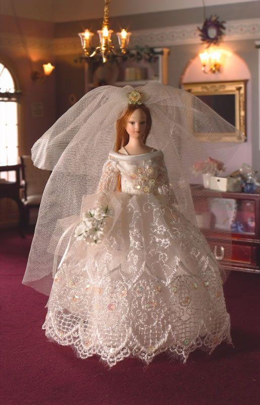 Grace The Bride Poseable Porcelain Doll
