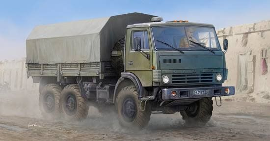 Trumpeter 1/35 Russian KAMAZ 4310 Truck