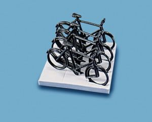 Peco Cycles (4) & Stand (1)