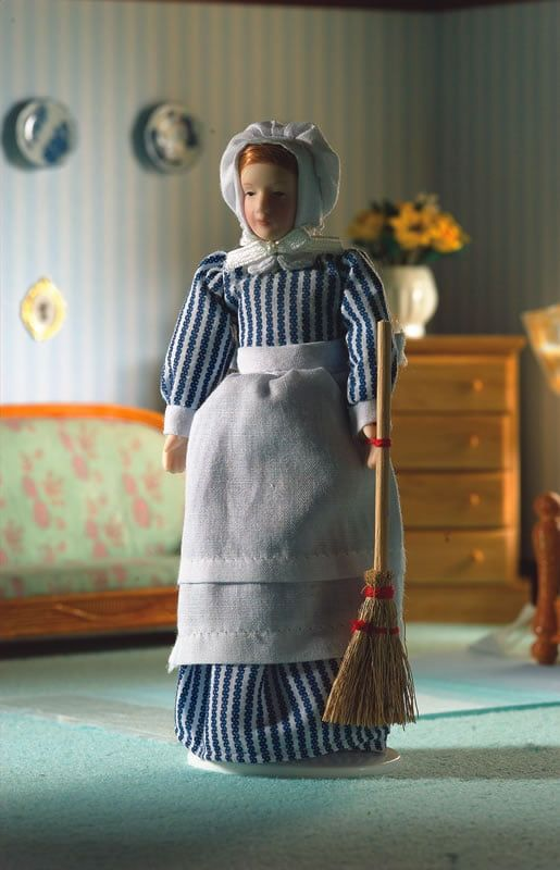 Rennie The Kitchen Maid Poseable Porcelain Doll