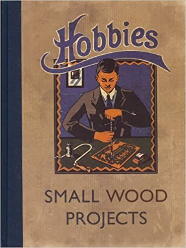 Hobbies Small Wood Projects Hardcover