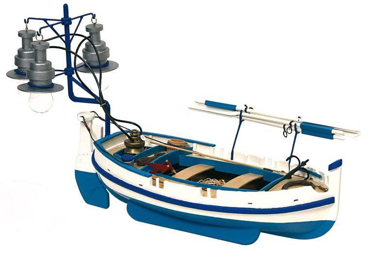Occre Calella Bot de Llum Light Boat  1:15 Scale Detailed Model Boat Kit