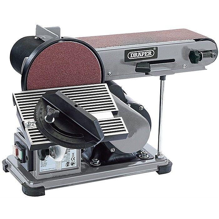 Draper 300 Watt Belt and Disc Sander 230v 53005 - 5 X Replacement Disc 120 Grit