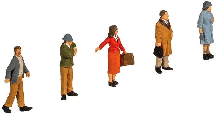 Peco Passengers Standing