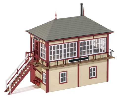 Peco Midland Signal Box (130mm x 50mm)