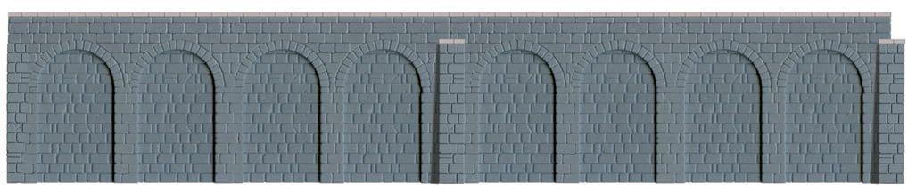 Peco Retaining Walls (350mm long)