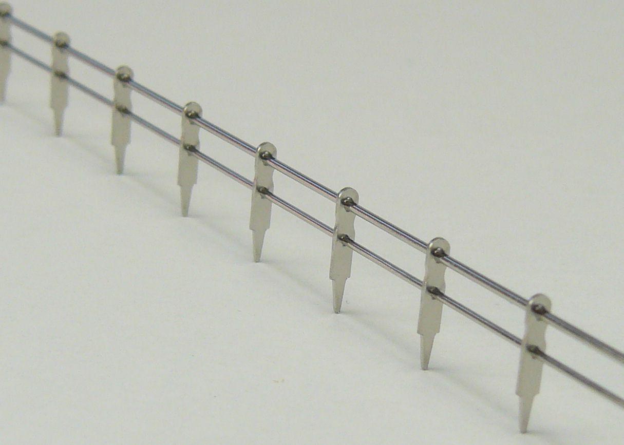 Aeronaut Twin Railings Pre-made Railing 2 Rail 250mm x 5mm Singles
