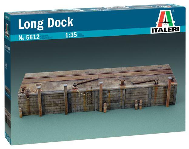 1/35 Italeri Long Dock Modular Kit