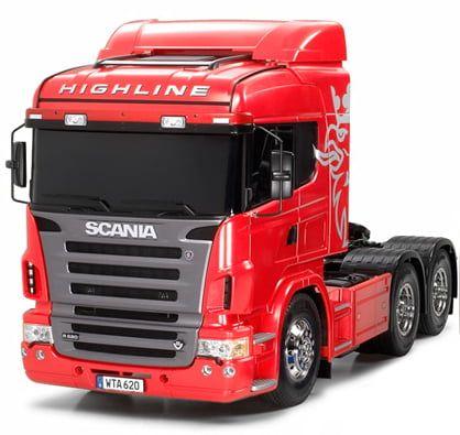 Tamiya European Scania R620 Highline Truck Kit Radio Controlled