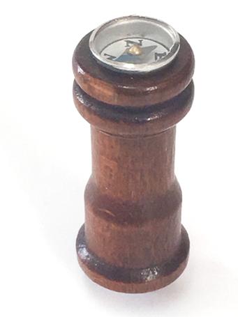 Aero Naut Wooden Binnacle Compass 38mm