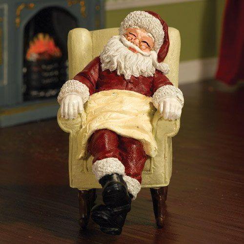 Sleeping Father Christmas