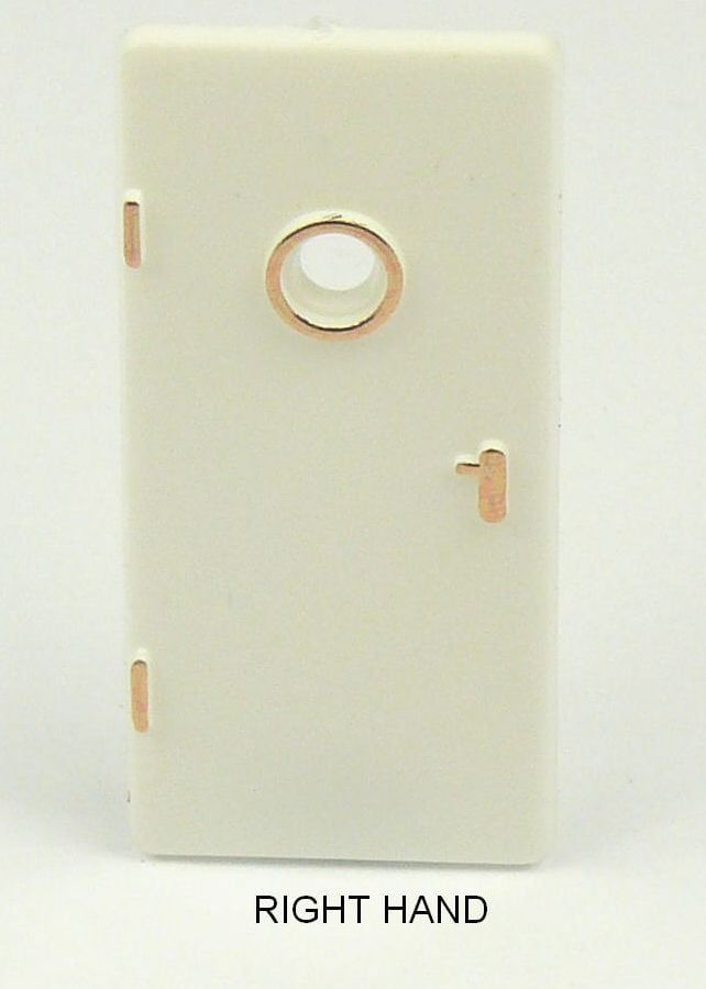 White Doors 36 x 17mm Pack of 10 - Left or Right Hand