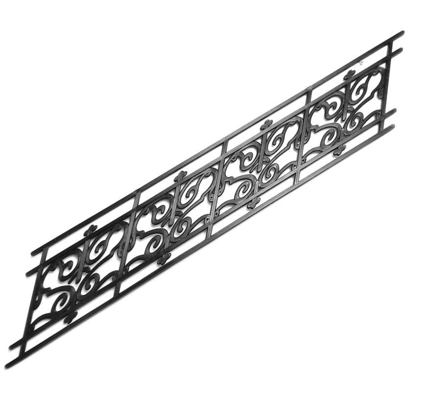 Plastic Angled Stair Rail