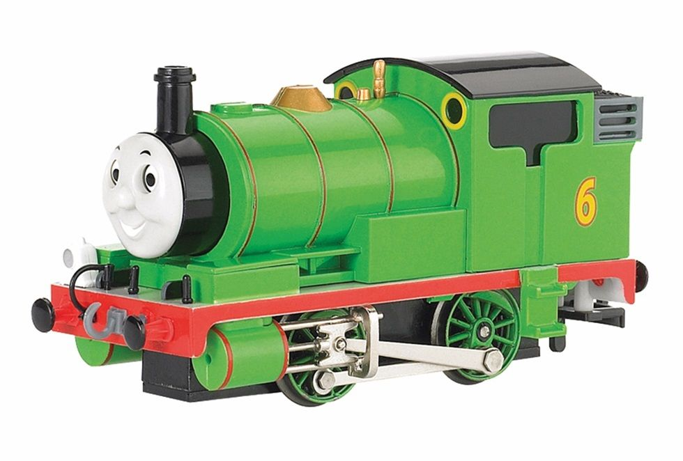 Thomas & Friends Percy the Small Engine with Moving Eyes OO Gauge