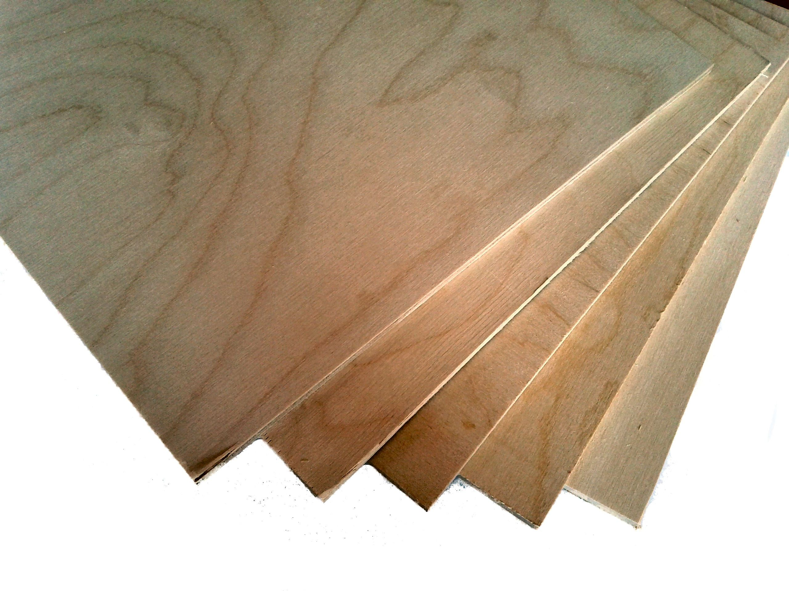 Quality Birch Plywood Off Cuts Packs