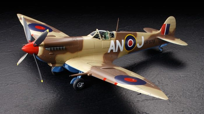 Tamiya 1/32 Scale Supermarine Spitfire Mk.VIII Plastic Model Kit