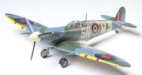 Tamiya Supermarine Spitfire Mk.Vb 1:48th Scale Plastic Model Aircraft Kit