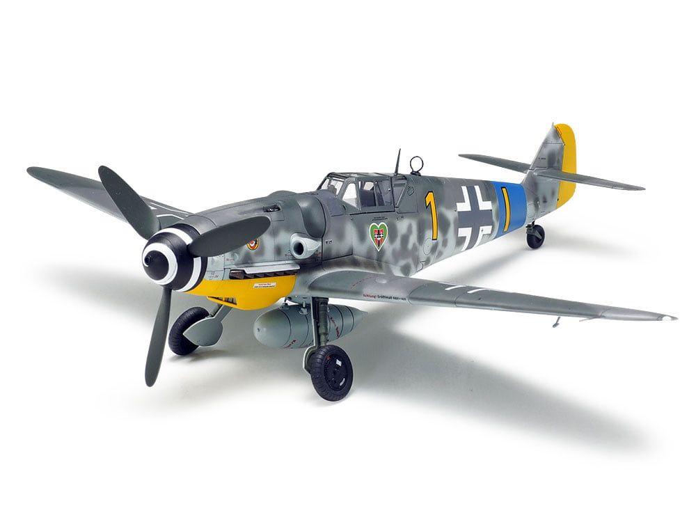 Tamiya Messerschmitt Bf109 G-6 Kit 48th Scale Plastic Model Kit