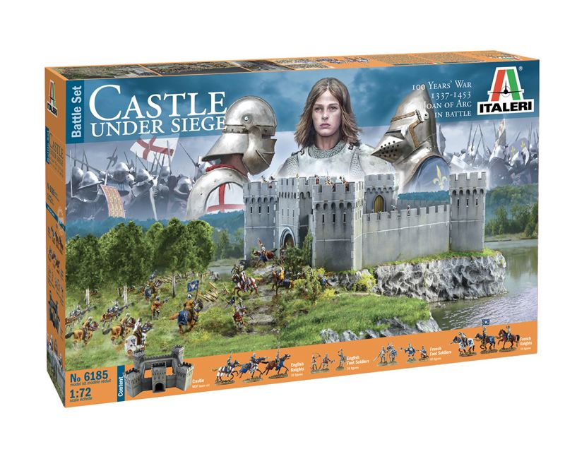 Castle Under Siege 1/72 Scale Model Kit