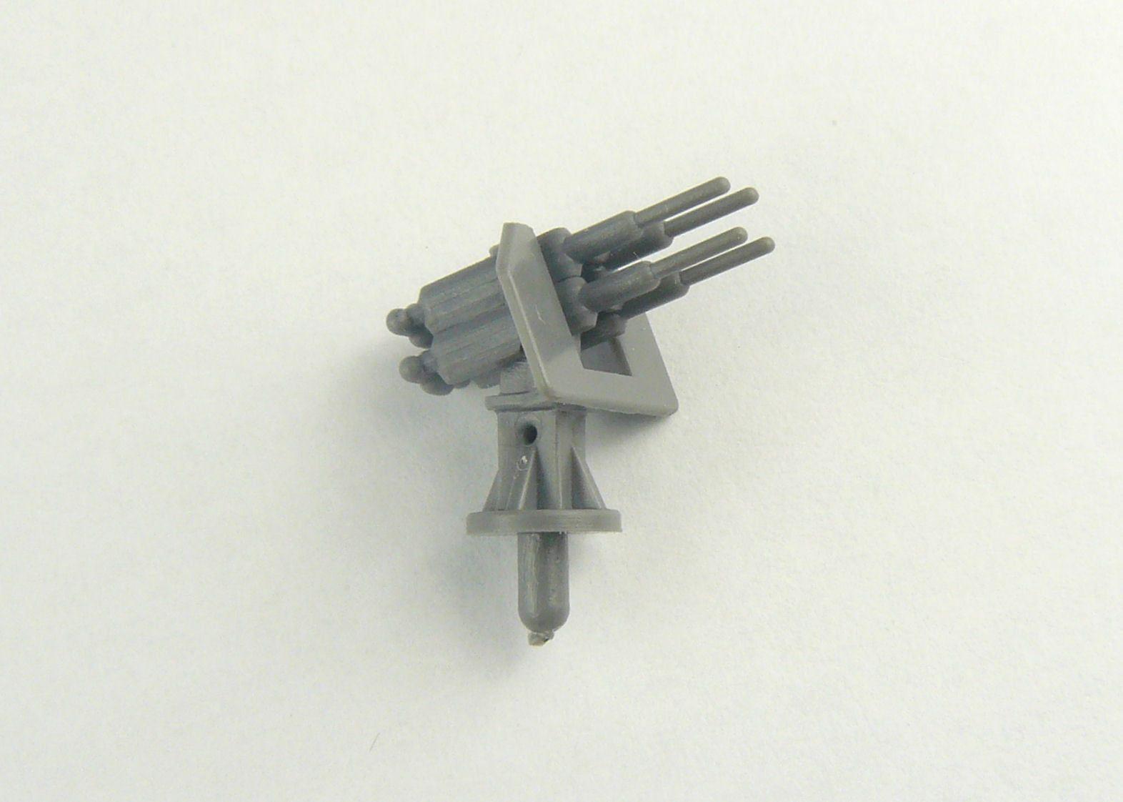Anti Aircraft Quad Guns 2cm 1:200 Scale - Pack of 5