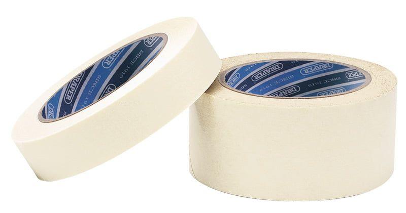 Masking Tape - Draper 50m X 48mm Masking Tape Roll