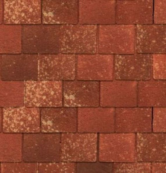 Lutyens Roof Tiles Quality Exterior Paper 430 x 950mm for 1:12 Scale Dolls House