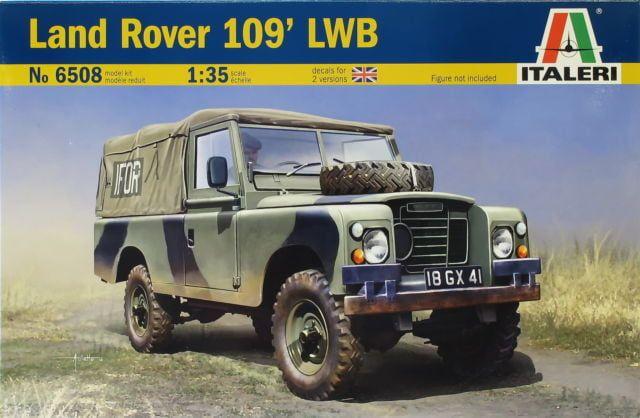 Italeri Land Rover 109' LWB British Royal Army 1:35 Scale Plastic Model Kit