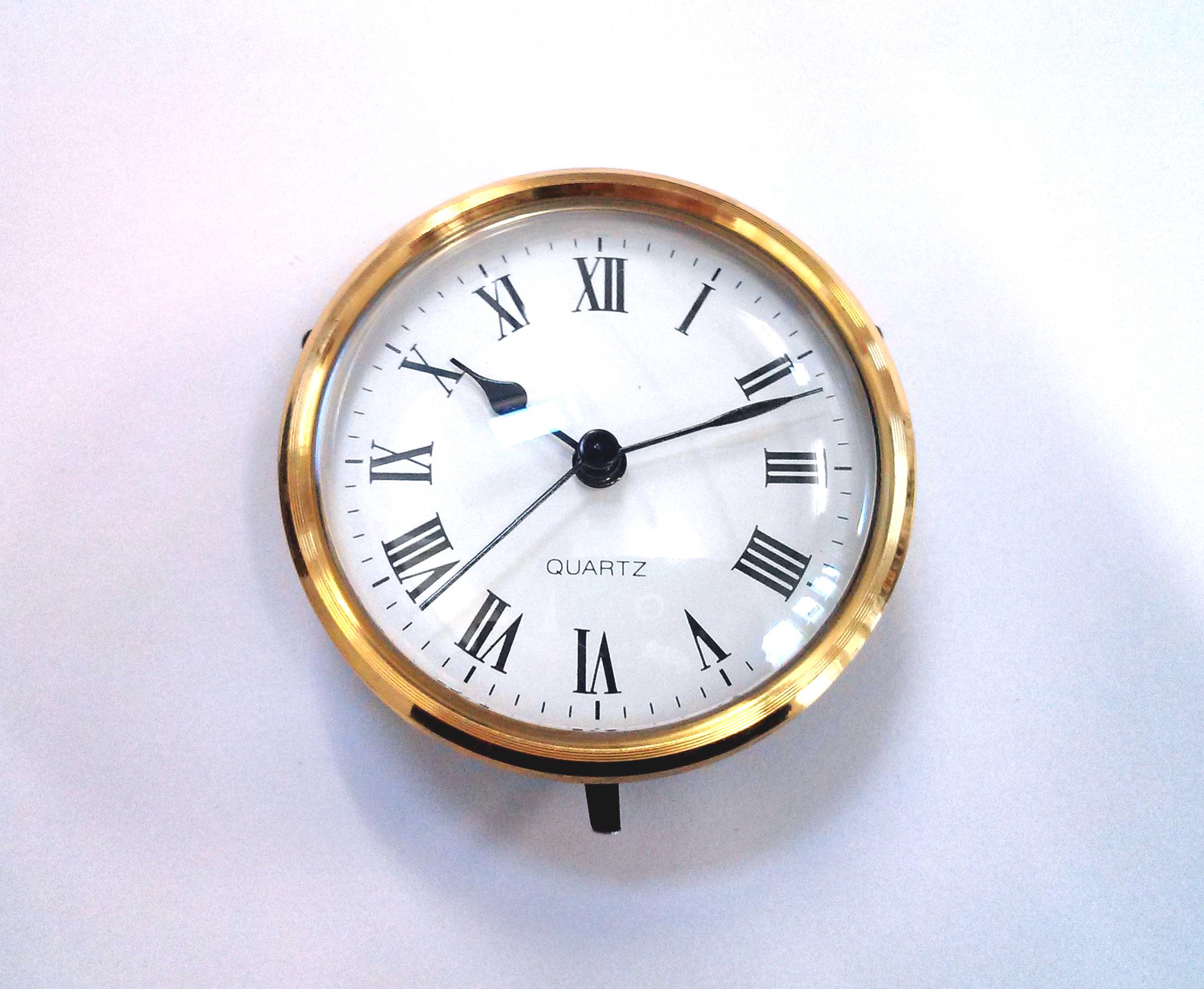 Clock Movements (Roman) - Clock Movements (roman)- 100mm