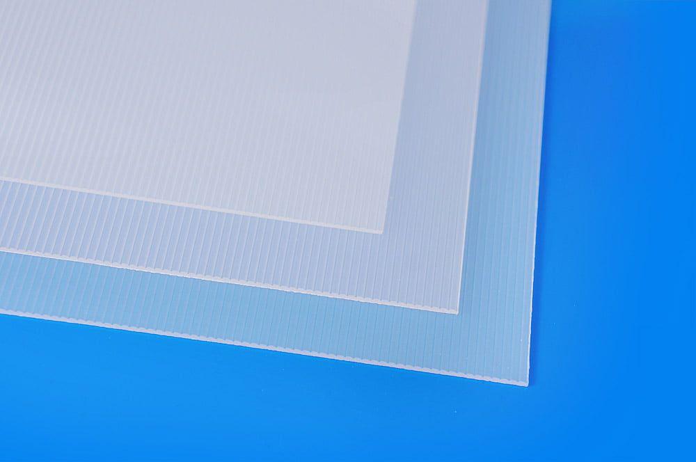 Evacast Clear Mat Ribbed Sheet
