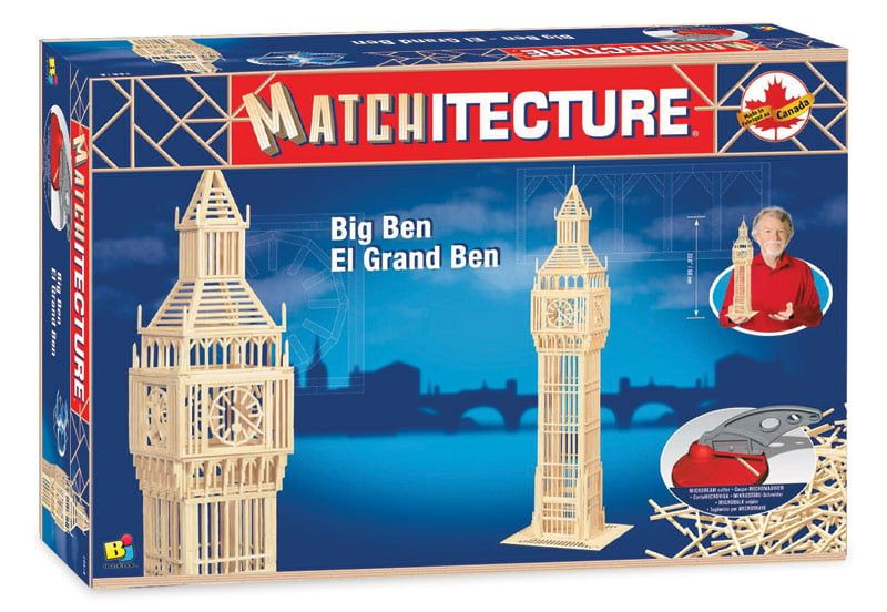 Matchitecture Big Ben Matchstick Kit