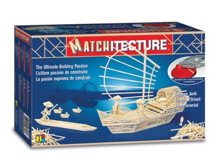 Matchitecture Chinese Junk Matchstick Kit