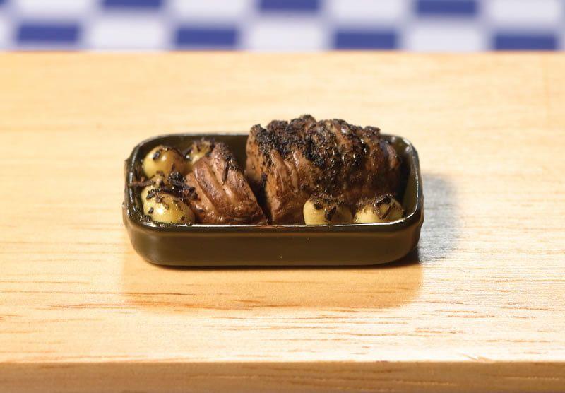 Roast Beef in Dish