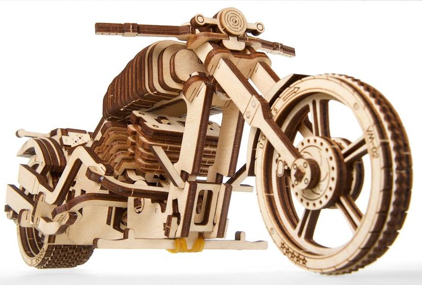 UGears Bike Wooden Kit