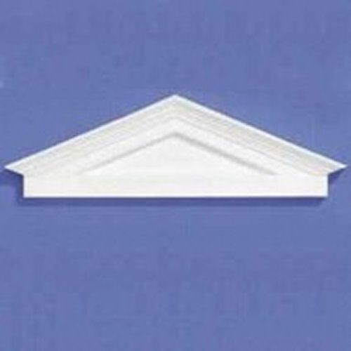 White Plastic Pediment