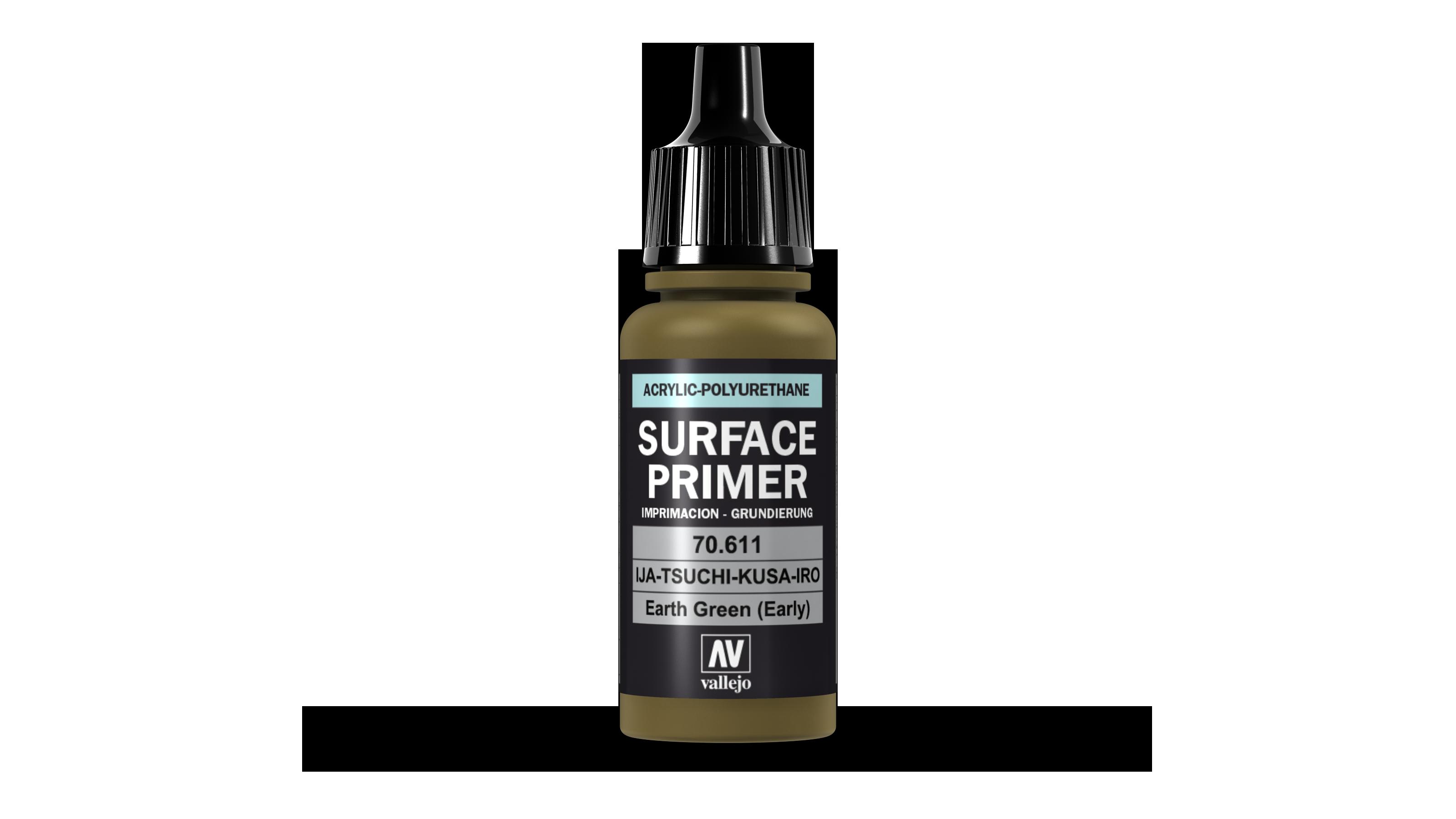 Acrylic Polyurethane Primer Earth Green (Early) 17ml