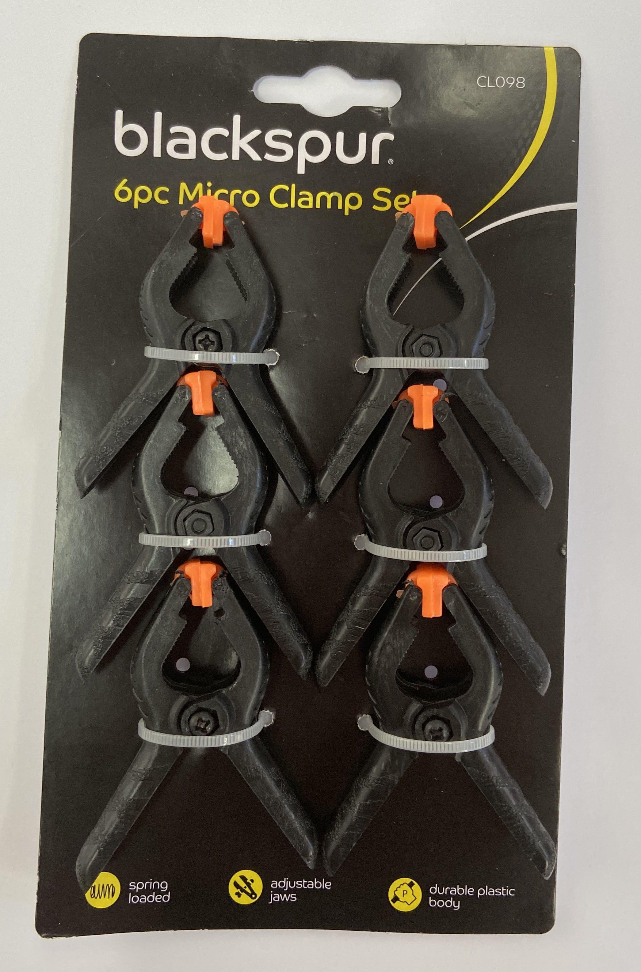 6 Piece Clamp Set