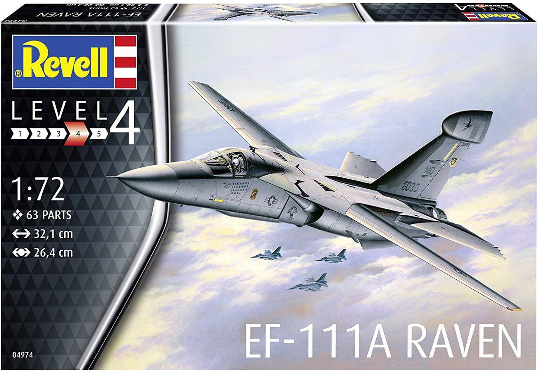 """Revell 1/72 Scale EF-111A """"Raven"""" Plastic Model Kit"""