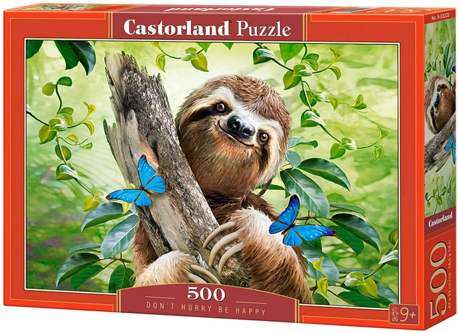 Castorland Don't Hurry Be Happy 500 Piece Jigsaw
