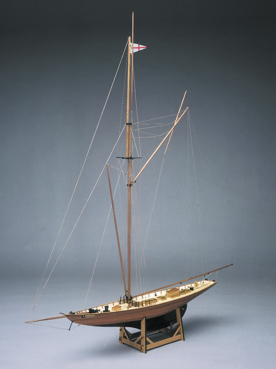 Mantua Models Britannia Royal Yacht Kit - Britannia Optional Sail Set