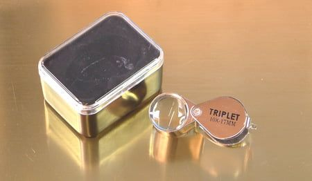 Expo 10x Jewellers Loupe 17mm Triplet Magnifier