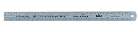 Expo scale rule 4mm OO gauge