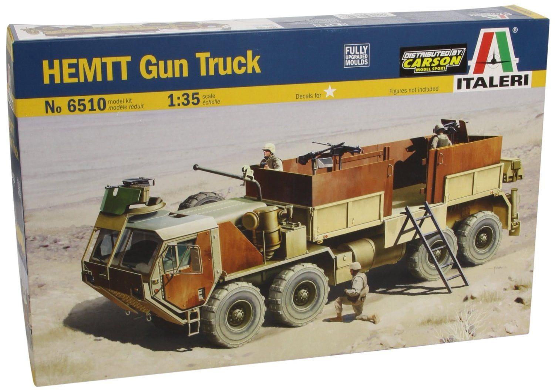 Italeri HEMTT Gun Truck 1:35 Scale Plastic Model Kit