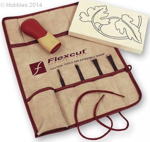 Flexcut Palm Tool SK Travel Sets