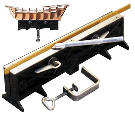 Mantua Models Strip Clamp and Hull Holder for Scale Model Ship building