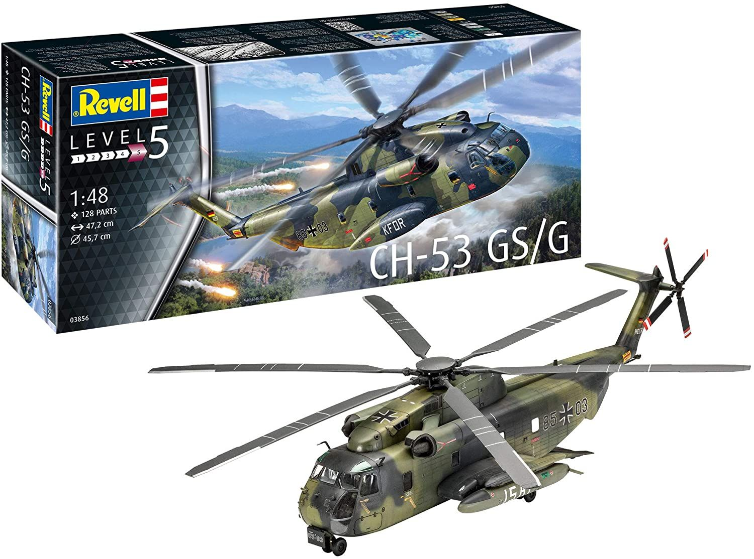 Revell 1/48 Scale Sikorsky CH-53 GSG