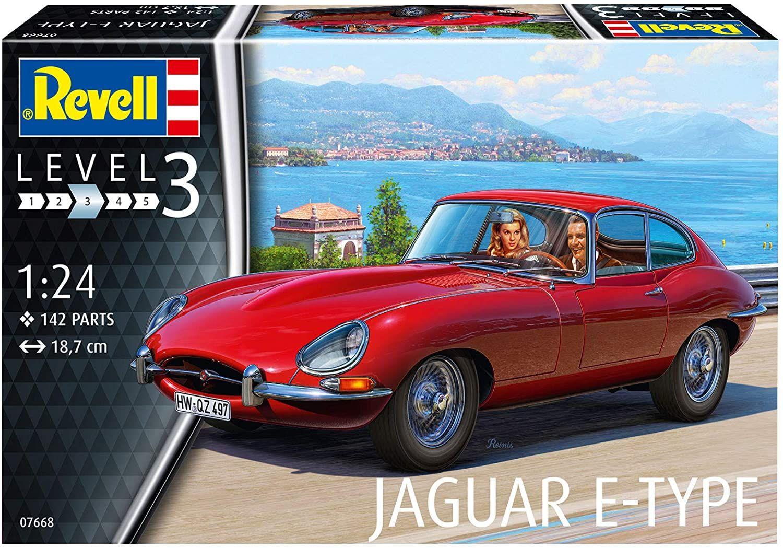 Revell 1/24 Scale Jaguar E-Type (Coupé)