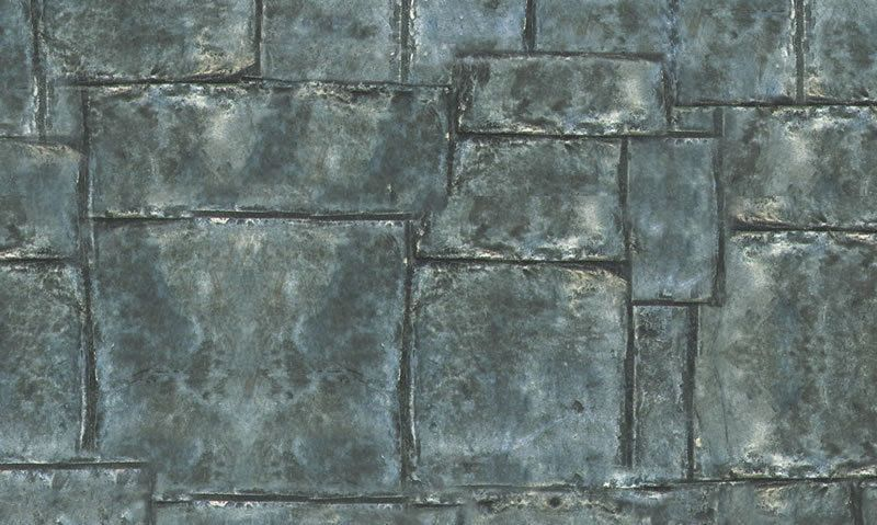 Country Flagstone External 1:12 Scale Quality Dolls House Wallpaper