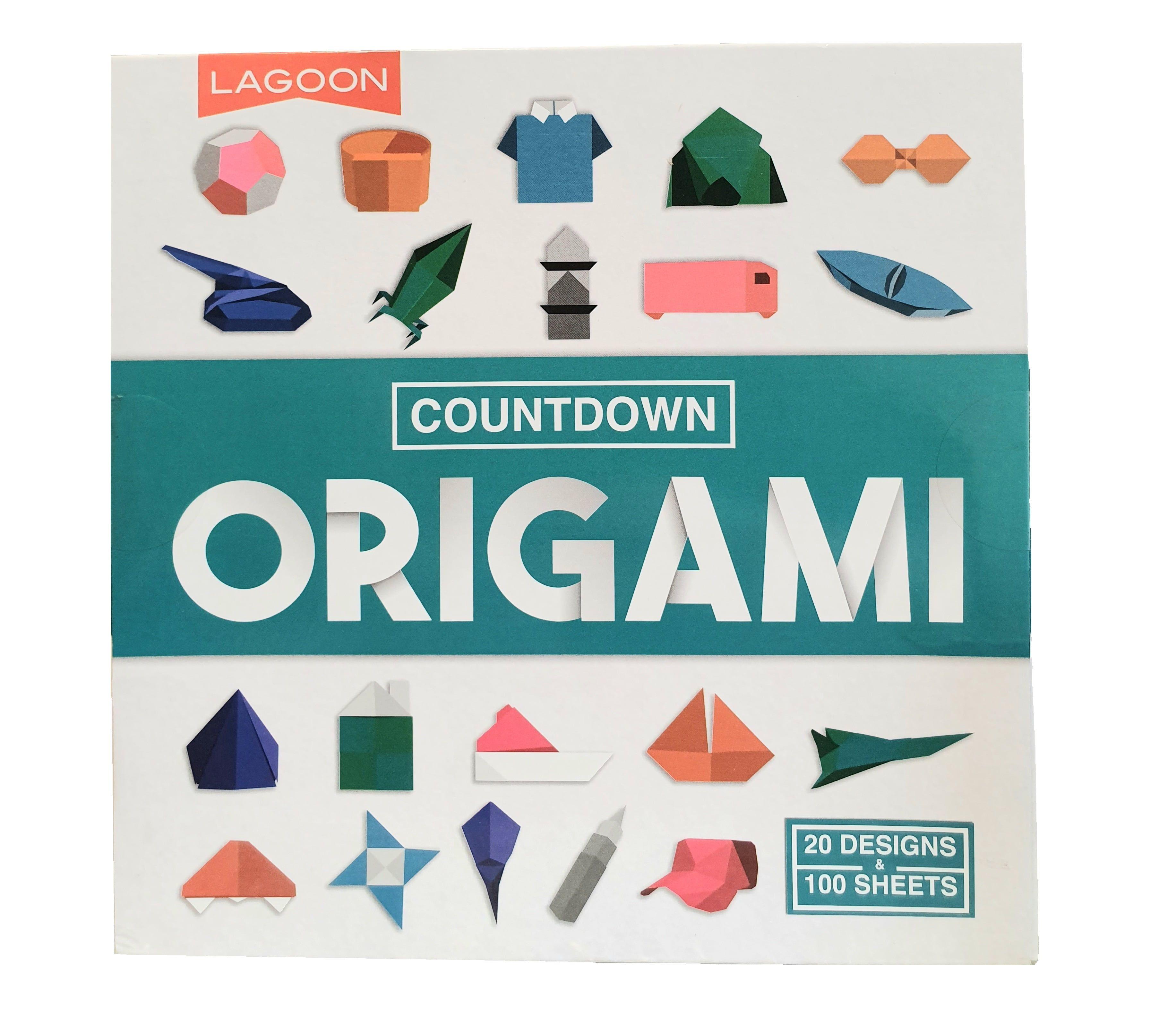 Countdown Origami Book